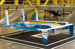 Amazon planea centro de carga para drones