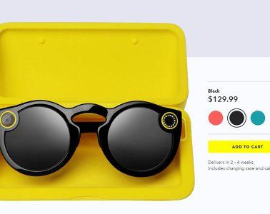 Snap comienza a vender Spectacles en línea en EU