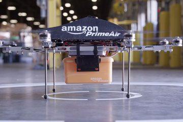 Cómo funcionaría la 'colmena' de drones de entrega de Amazon